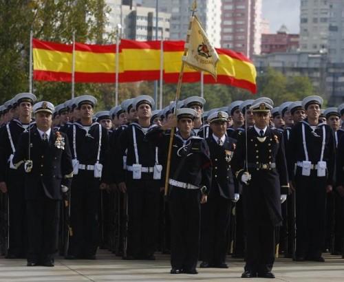Jura de Bandera en la Escaño /