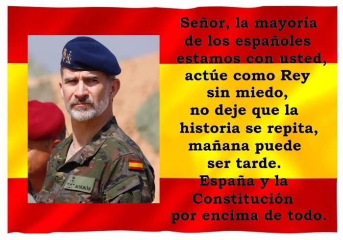 Bandera España Rey