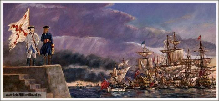 Blas-de-Lezo-contempla-victoria-batalla-Cartagena-de-Indias