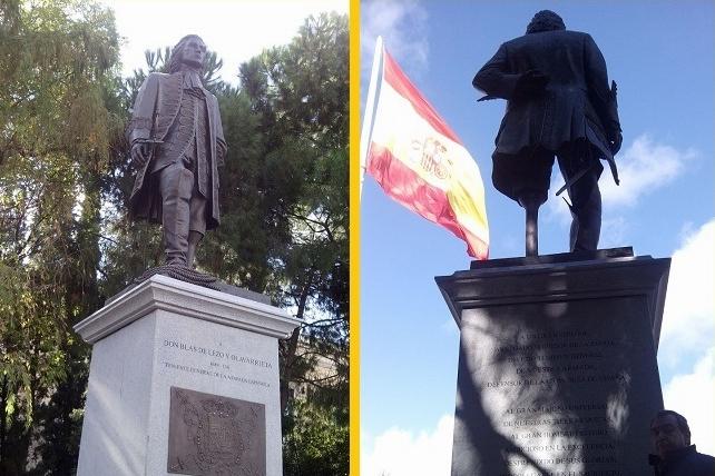 Blas de Lezo en España