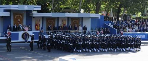 Desfile Armada Madrid 2015