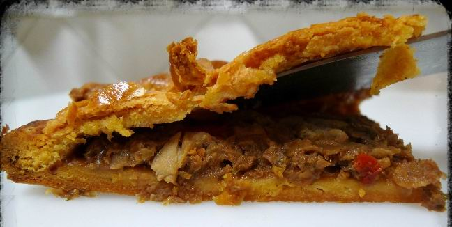 Empanada de Carne de Saccharo - Lorbe