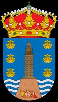 Escudo Provincial de La Coruña