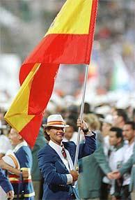 Luis Doreste, Abanderado Español en Atlanta 1996