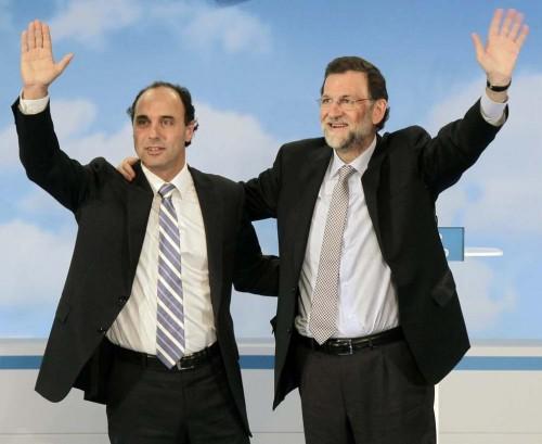 Mariano Rajoy con Ignacio Diego, Presidente de Cantabria