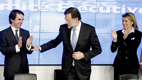 Mariano Rajoy y Aznar  Comite Ejecutivo