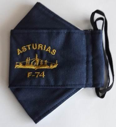 Mascarilla de la Fragata ASTURIAS F-74