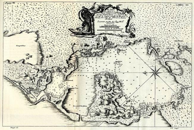 Plano_de_la_Bahía_de_Cartagena_de_las_Indias_(1735)_-_AHG