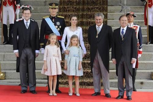 Representantes del Estado Español. Reino de España