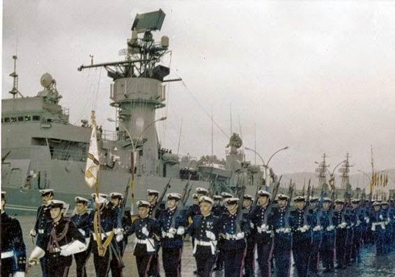 entrega fragata F-74 a la Armada