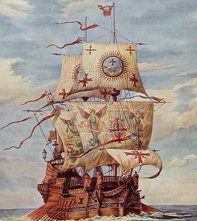 galeon-san-martin Batalla de Isla Terceira El mundo no es suficiente para la España de Felipe II