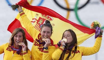 medalla-de-Oro-en-Vela-Tamara-Echegoyen-Sofia-Toro-y-Angela-Pumariega-Juegos-Olimpicos-de-Londres-2012