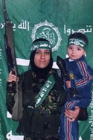 terrorista suicida con su hijo